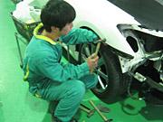 鈑金・塗装作業工程-7